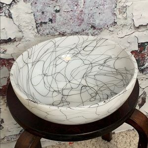 MCM squiggly bowl